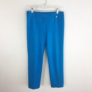 Trina Turk Blue Sims Ankle Pants